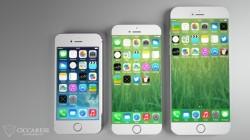 Fotomontage eines großen iPhone-Modells ohne Seitenrand (Bild: Ciccarese Design)