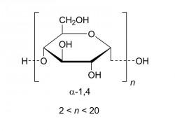 Strukturformel von Maltodextrin (Grafik: Wikipedia)