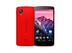 Nexus 5 in Rot