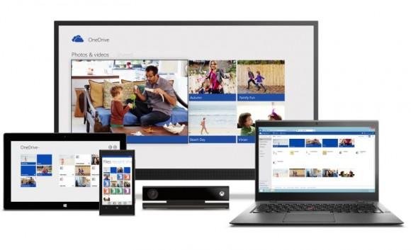 OneDrive kann auf Desktop-Rechnern, Notebooks, Tablets, Smartphones und Xbox genutzt werden (Bild: Microsoft).