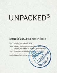 Samsung's invitation to