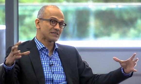 Bild zu «Microsoft-CEO Nadella: Mobile und Cloud kommen zuerst»