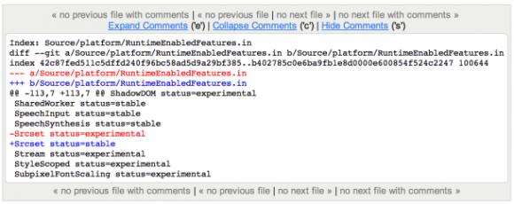 """Die Unterstützung von srcset gehört neuerdings zu den """"stabilen"""" Funktionen von Chrome (Screenshot: Google)."""