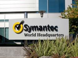 Firmenschild vor der Symantec-Zentrale (Bild: Symantec).