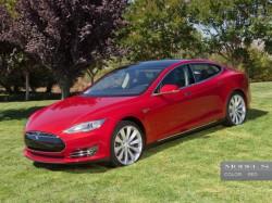 Das Modell S ist die jüngste Entwicklung von Tesla Motors (Bild: Tesla Motors).