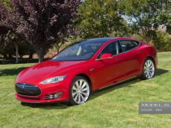 Model S (Bild: Tesla Motors).