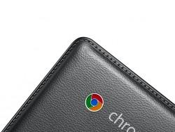 Samsung Chromebook 2 mit Leder-Optik (Bild: Samsung)