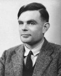 Alan Turing (Bild: Wikipedia)