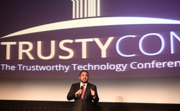 Alex Stamos bei TrustyCon (Bild: News.com)