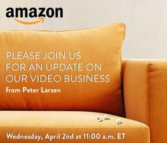 Amazons Einladung zu seiner Presseveranstaltung in New York (Bild: News.com)