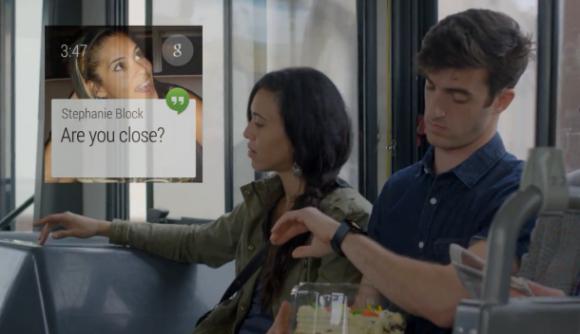 Smartwatches mit Android Wear können Nutzer beispielsweise über neue Nachrichten informieren (Bild: Google).
