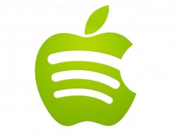 Spotify in Apfel-Form (Bild: James Martin/CNET).