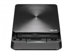 Die obere Abdeckung des VivoPC VM60 lässt sich ohne Werkzeug öffnen und erlaubt so den schnellen Austausch von Festplatte oder RAM (Bild: Asus).