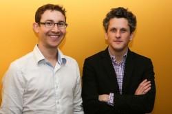 Die Gründer von Box: CFO Dylan Smith (links) und CEO Aaron Levie (Bild: Josh Miller/CNET)