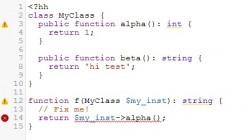 Beispielcode für Hack (Bild: Facebook)