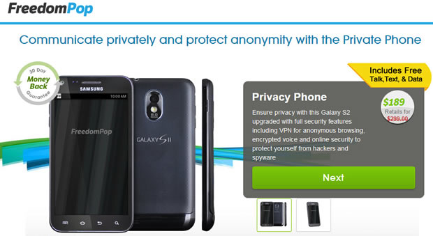 Privacy Phone (Bild: Freedom Pop)