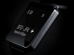 Die LG G Watch ähnelt äußerlich bereits erhältlichen Smartwatch-Modellen von Samsung oder Sony (Bild: LG).