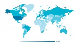 Geografische Verbreitung der Linux-Malware Ebury (Diagramm: CERT-Bund)