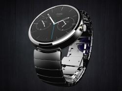 Die Moto 360 greift das Design klassischer Armbanduhren auf (Bild: Motorola).