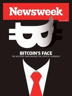 Newsweeks Bitcoin-Cover (Bild. newsweek.com)