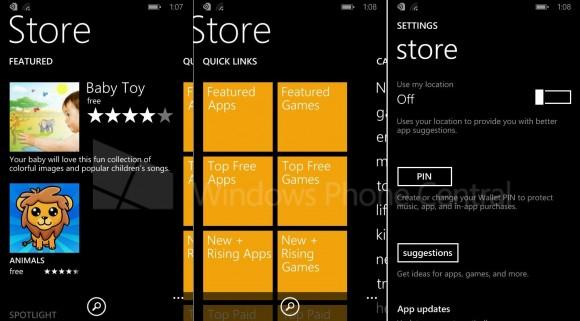 "So soll der neue Windows Phone Store unter Windows Phone 8.1 aussehen (Bild <a href=""http://www.wpcentral.com/overhauled-store-windows-phone-81"" target=""_blank"">via WPCentral</a>)."