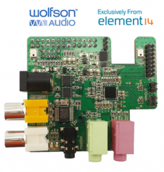 Exklusiv bei Element 14: Wolfson Audio Card (Bild: Element 14)