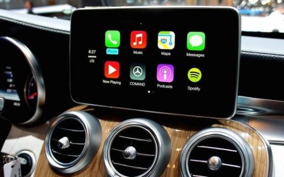 Die zur Integration ins Auto-Bordsystem nötige Schnittstelle CarPlay hat Apple bereits im Frühjahr vorgestellt. Google könnte zur I/O nachziehen (Bild: ZDNet.com).
