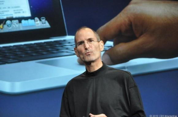 Der 2011 verstorbene Apple-Gründer Steve Jobs bei einer seiner letzten Produktpräsentationen (Bild: Josh Lowensohn / CNET)