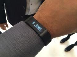 Acers erstes Wearable-Gerät: das Fitness-Armband Liquid Leap (Bild: Scott Stein/CNET)