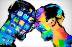 Apple gegen Samsung (Bild: James Martin / CNET)