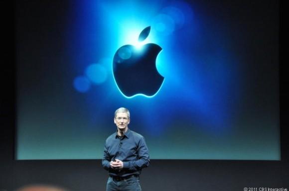 """Apple-CEO Tim Cook stellt """"großartige Dinge"""" in Aussicht (Bild: Josh Lowensohn / CNET)."""
