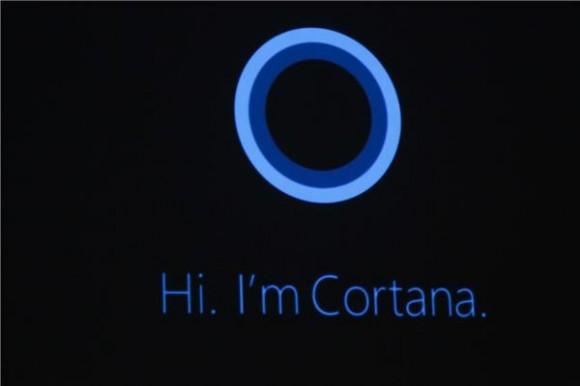 Cortana stellt sich vor (Bild: News.com).