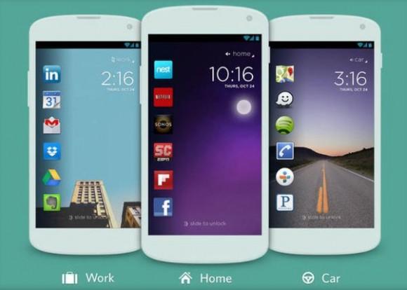 Twitter hat das Start-up Cover, Anbieter der gleichnamigen Android-Lockscreen-App gekauft (Bild: Cover).