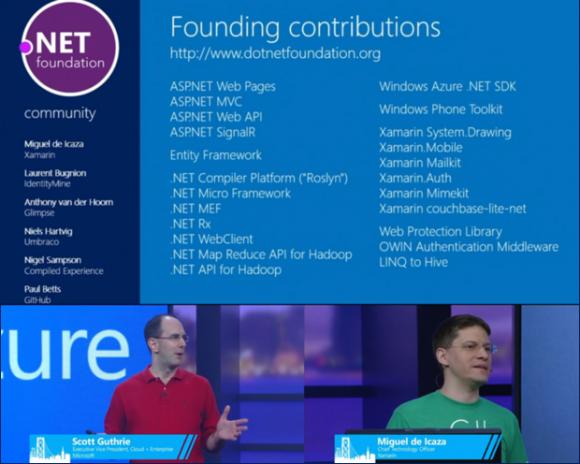 Die .NET Foundation geht mit über 20 Open-Source-Projekten an den Start.