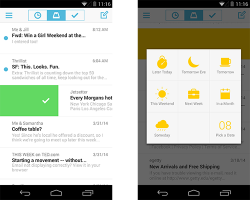 Mailbox für Android (Screenshot: Dropbox)