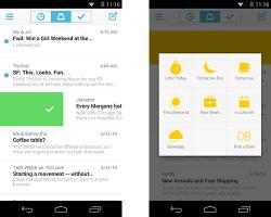 Mailbox für Android (Screenshot: Dropbox)
