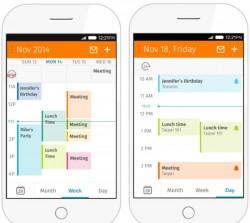 Geplante Kalenderansicht in Firefox 2.0 (Bild: Sören Hentzschel, Mozilla)