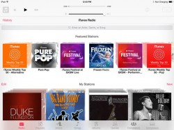 iTunes Radio (Screenshot: Lance Whitney/CNET)