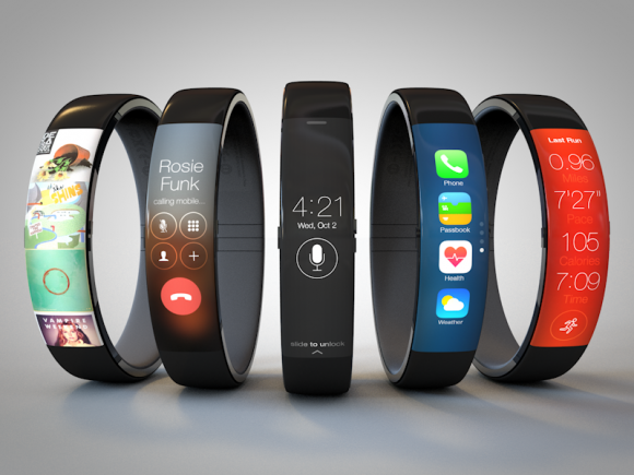"Mock-ups von Apples iWatch (Bild: <a href=""http://toddham.com/blog/iwatch-concept"" target=""_blank"">Todd Hamilton</a> via CNET.com)"