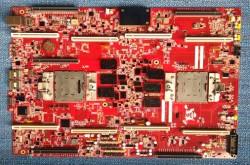 Google-Mainboard für Power8-Prozessoren (Bild: via Google+)