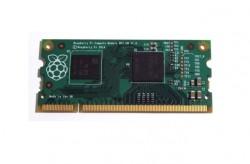 Das Raspberry Pi Compute Module verfügt über ein SoC von Broadcom, 512 MByte RAM und 4 GByte Flash-Speicher (Bild: Raspberry Pi Foundation).