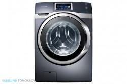 Per Android-App steuerbar: die Waschmaschine W9000 (Bild: Samsung)