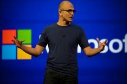 Satya Nadella auf der Build 2014 (Bild: CNET)