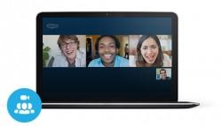 Gruppenvideoanrufe über Skype sind ab sofort für jedermann dauerhaft kostenlos (Bild: Microsoft).