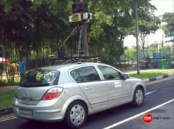 Street-View-Auto in Singapur 2008 (Bild: CNET Asia)