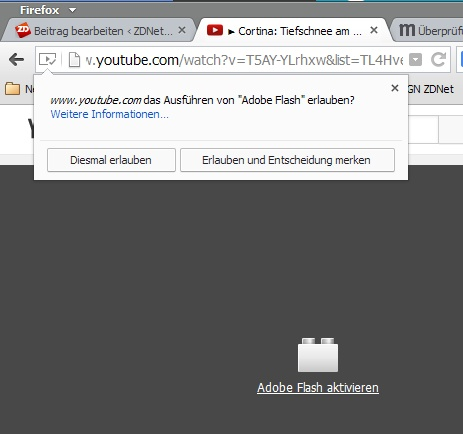 firefox flash plugin aktivieren