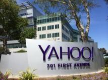 Yahoo übertrifft trotz Gewinneinbruch die Erwartungen