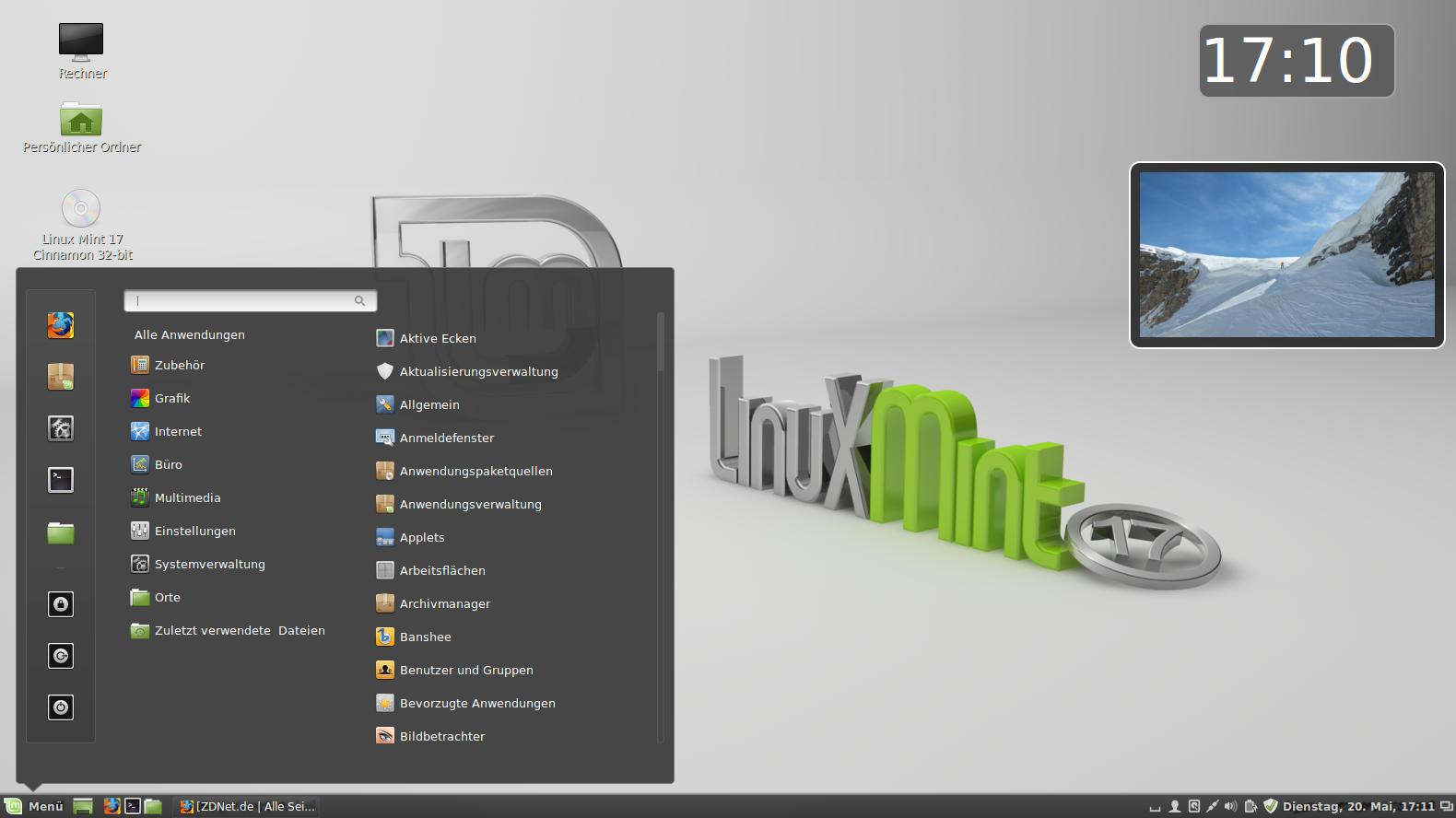 Linux Mint Cinn...