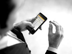 Abhörsicher: Secusuite mit Blackberry Z10 (Bild: Secusmart)