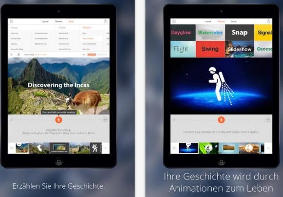 Adobe Voice (Screenshot: ZDNet bei iTunes)